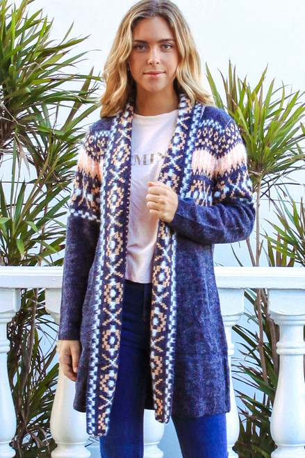 'Emery' Long Cardigan