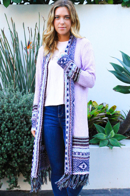 'Arya' Long Cardigan