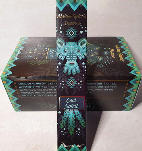 GOLOKA 15gms - Owl Spirit Incense