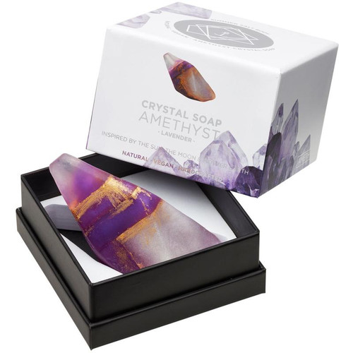 Amethyst Crystal Soap