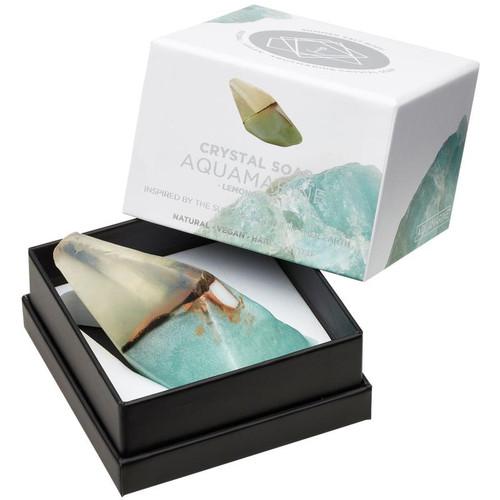 Aquamarine Crystal Soap