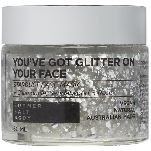You've Got Glitter On Your Face - Stardust Face Mask 50ML 50ML (Comes With Mini Application Brush)