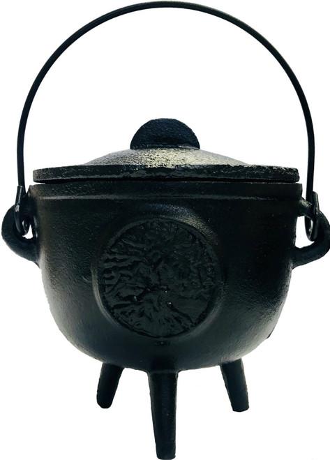 Cauldron - Tree of Life Cast Iron