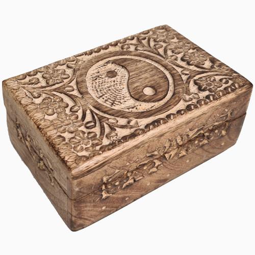 Small Yin Yang Wooden Box