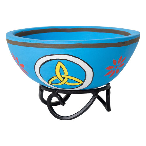Triquetra with Stand Smudge Bowl