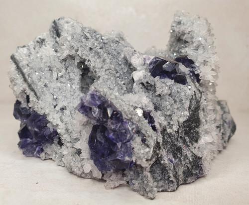 Fluorite Quartz Specimen