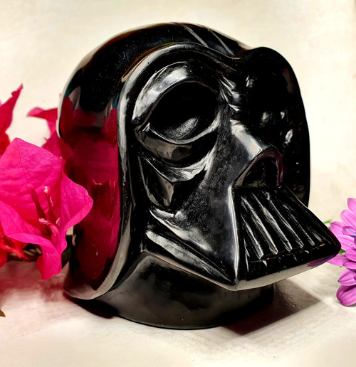 Darth Vader Obsidian Carving
