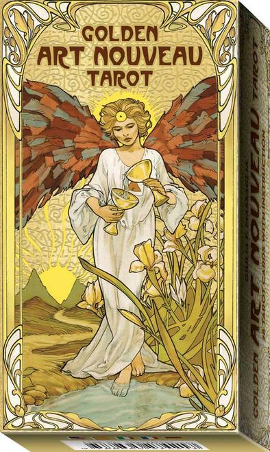 Golden Art Nouveau Tarot by Guilia F. Massaglia