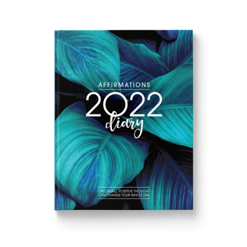 Affirmations 2022 Blue Diary