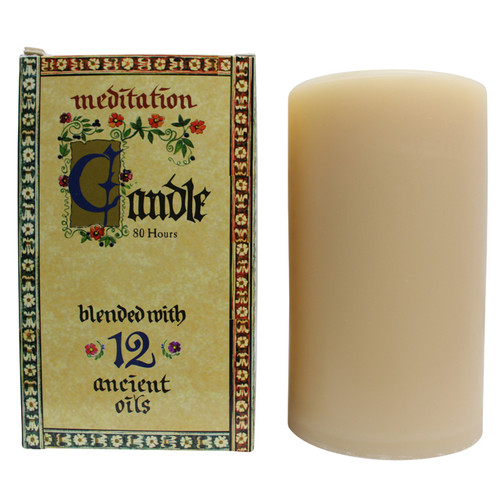 Meditation Candle – Small (40hrs)