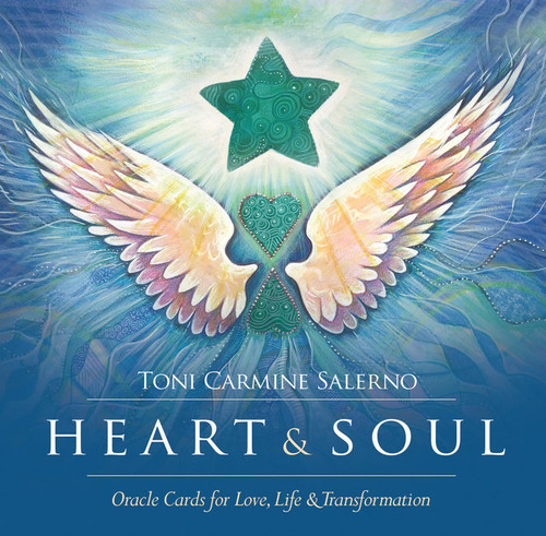 Heart & Soul Cards Oracle Cards for Love, Life & Transformation by Toni Carmine Salerno