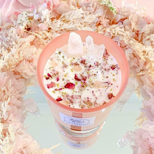 Crystal Candle - Cherry Blossom - Japanese Cherry Blossom