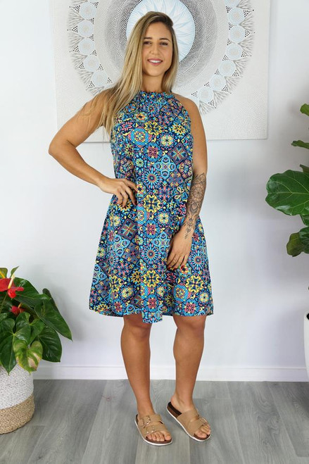 Short Chloe 'Tijuana' Navy  Dress
