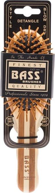 Bamboo Bass Hairbrush