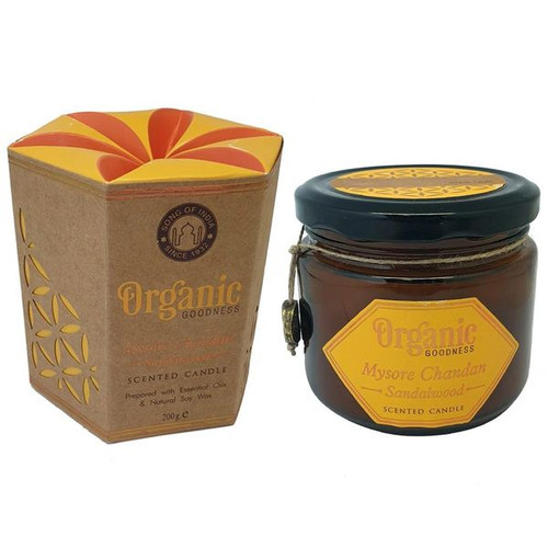 Sandalwood Organic Goodness Soy Candle