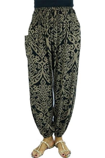 Sundrenched Harem Pants Black Pendant