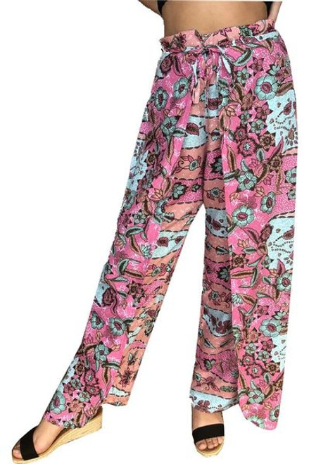 Sundrenched Wrap Pants Coral Rivers Freesize 10-16