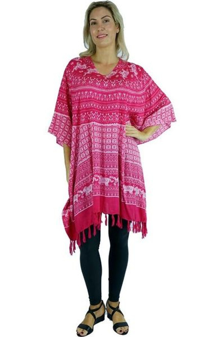 Sundrenched Pink Elephant Cover Up