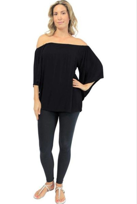 Sundrenched Libra Black Top