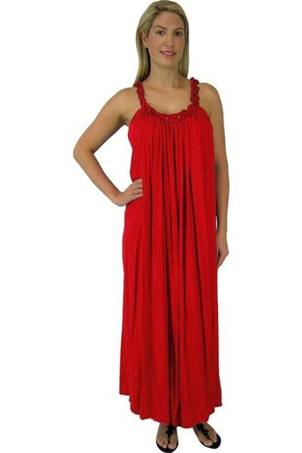 Sundrenched Long Magnum Red Dress