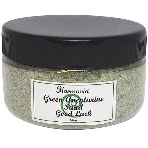 Green Aventurine Crystal Sand in Jar