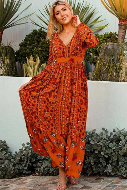 Isabella Boho Maxi Dress