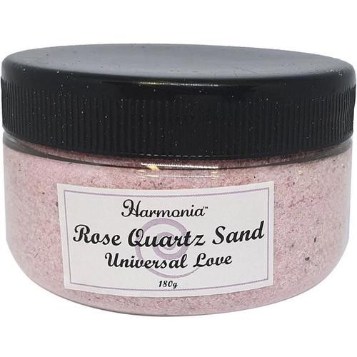 Rose Quartz Crystal Sand in Jar
