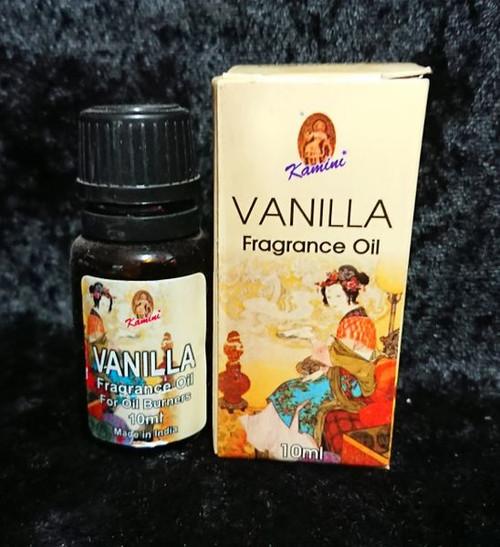Kamini Aromatics Vanilla Fragrance Oil 10ml