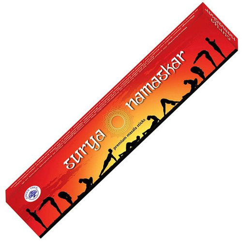 Green Tree Surya Namaskar Incense Sticks