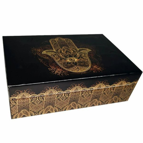 Hamsa Hand Laminated Box