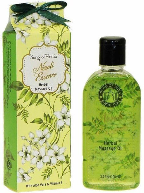 Song of India Neroli Essence Herbal Massage Oil