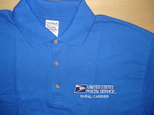 Embroidered Polo Golf Shirt (These are men's cut)