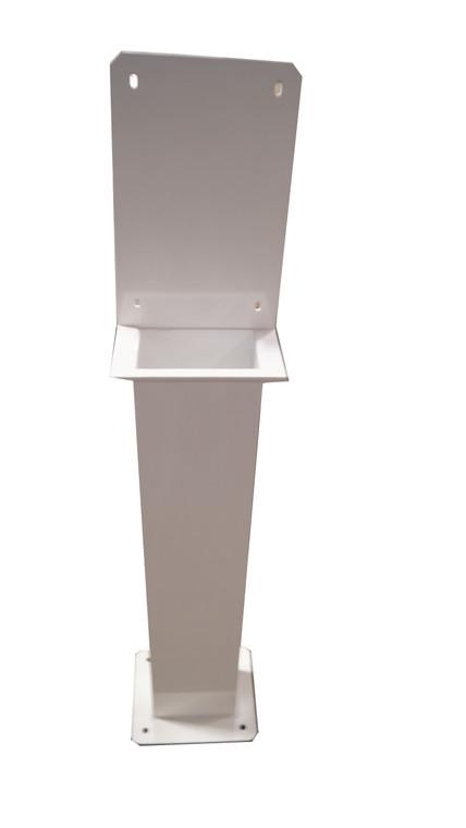 "EnergyMate Stand - 42"" powdercoated 6061 marine grade aluminum"