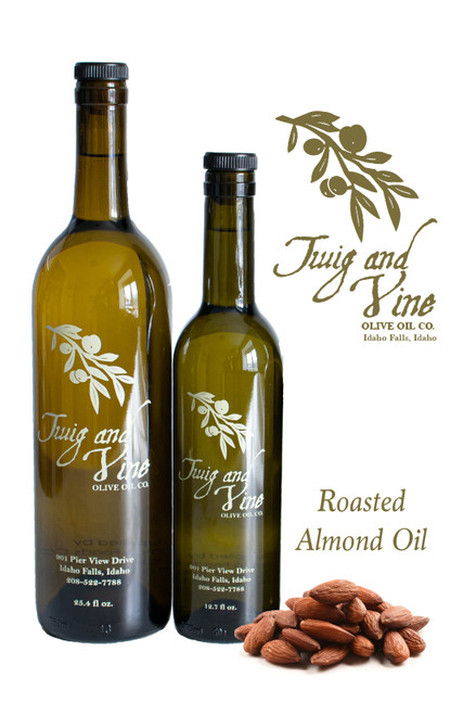 Roasted Almond Oil available at Love At First Bite Mercantile in Idaho Falls, Idaho | Twig & Vine Olive Oil Co.