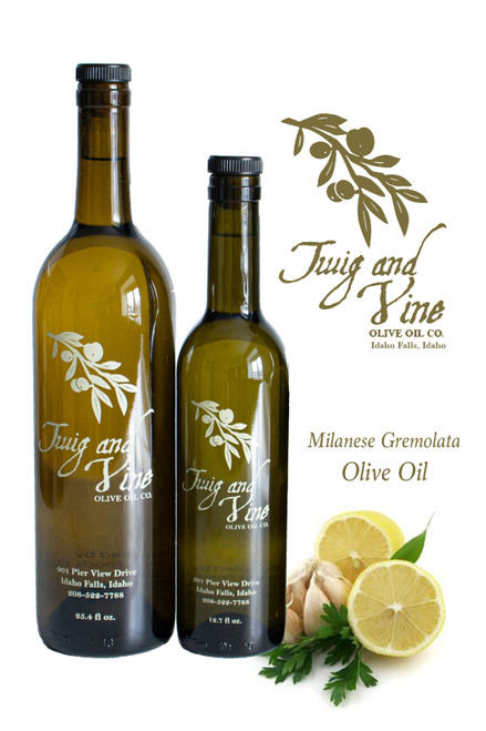 Milanese Gremolata Olive Oil available at Love At First Bite Mercantile in Idaho Falls, Idaho