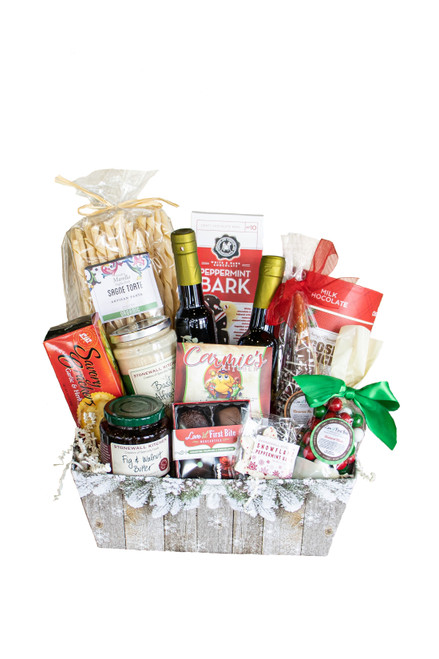 Gift Baskets available at Love At First Bite Mercantile in Idaho Falls, Idaho