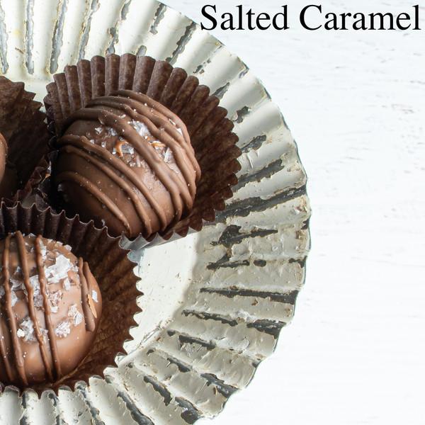 Salted Caramel Truffles at Love At First Bite in Idaho Falls, Idaho