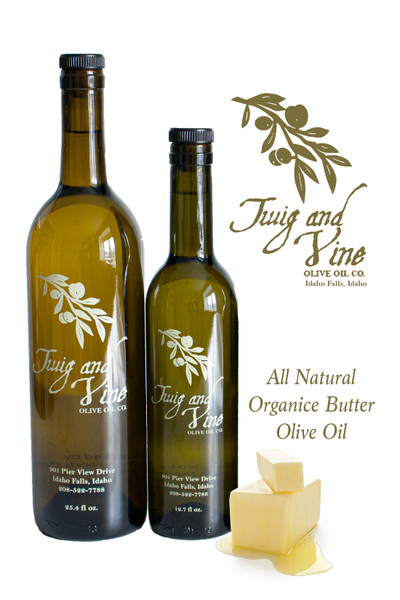 All Natural Organic Butter Olive Oil available at Love At First Bite Mercantile in Idaho Falls, Idaho   Twig & Vine Olive Oil Co.
