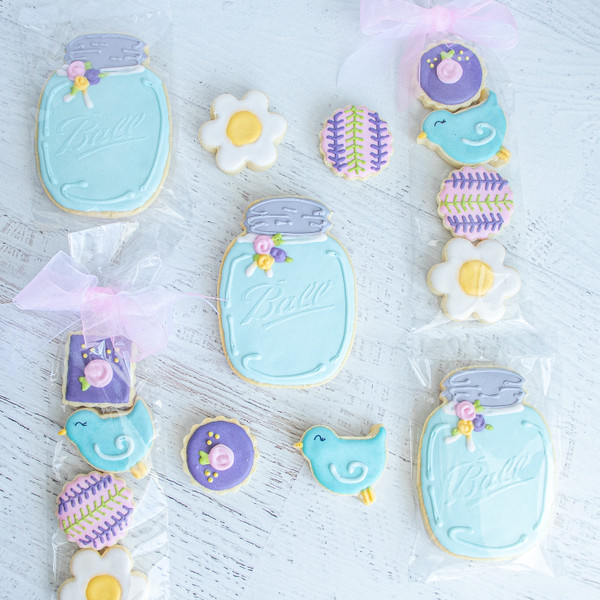 Custom Designed Sugar Cookies at Love At First Bite Mercantile in Idaho Falls, Idaho