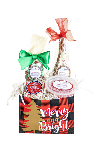 Small Sweets n' Treats Gift Baskets available at Love At First Bite Mercantile in Idaho Falls, Idaho