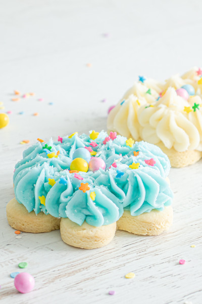 Flower Frosted Sugar Cookies available at Love At First Bite Mercantile in Idaho Falls, Idaho