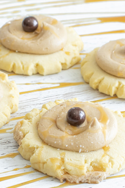 Salted Caramel Swig Sugar Cookies available for preorder at Love At First Bite Mercantile in Idaho Falls, Idaho | Snake River Landing