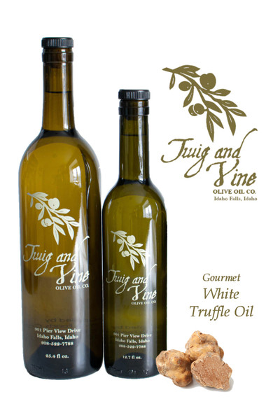 White Truffle Oil available at Love At First Bite Mercantile in Idaho Falls, Idaho | Twig & Vine Olive Oil Co.
