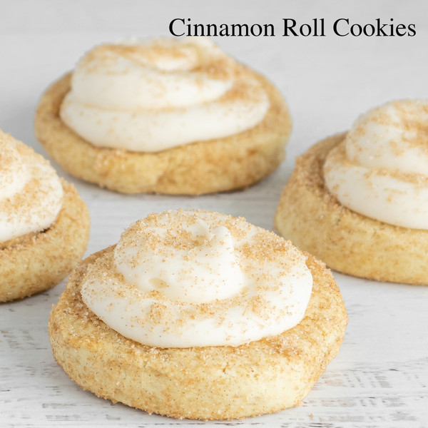 Cinnamon Roll Gourmet Cookies Cookies at Love at First Bite Mercantile in Idaho Falls, Idaho
