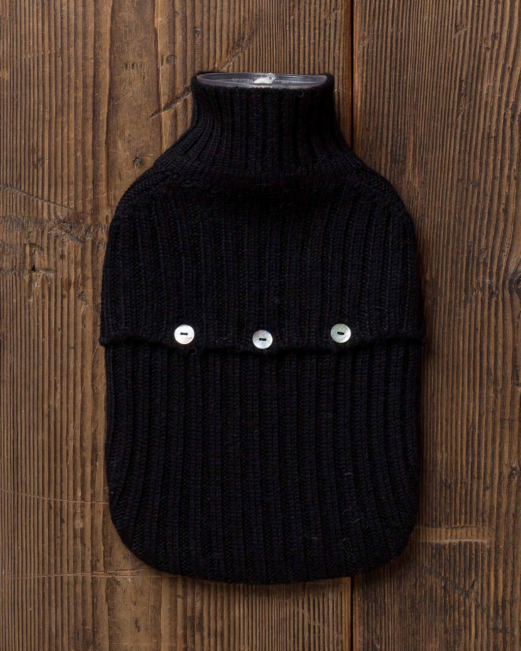 Alicia Adams Alpaca Hot Water Bottle, alpaca gift items, alpaca hot water bottle cover, fair trade made in peru, black alpaca hot water bottle