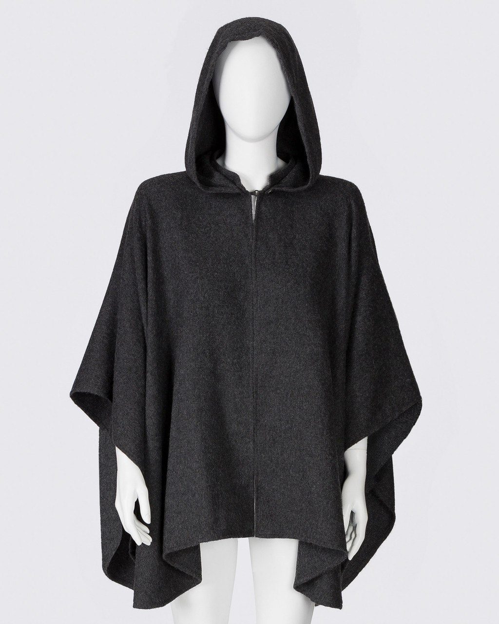 Alicia Adams Alpaca Mao Cape, alpaca poncho cape for women, alpaca poncho, alpaca clothing, alpaca cape, alpaca vs cashmere, charcoal grey alpaca cape