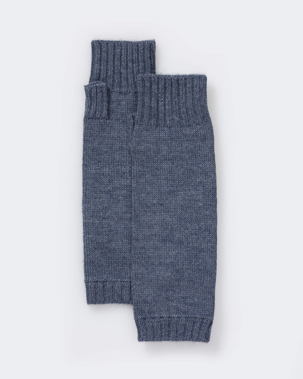 Alicia Adams Alpaca Classic Handwarmers, alpaca fingerless gloves, alpaca gloves fingerless, alpaca gloves women, denim blue alpaca fingerless gloves
