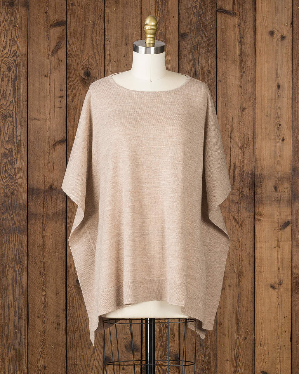 alicia adams alpaca jamie sweater, luxury womens sweater, 100% baby alpaca, womens loose alpaca sweater, women's plus size alpaca sweater, luxury sweater, tan, camel, taupe alpaca sweater, alpaca apparel, sustainable fashion, softer than cashmere,  ecofriendly alpaca sweater