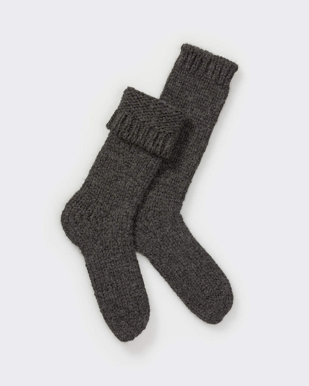 Alicia Adams Alpaca Lounge Sock, alpaca socks, womens alpaca socks, alpaca socks men, alpaca wool socks, charcoal alpaca socks