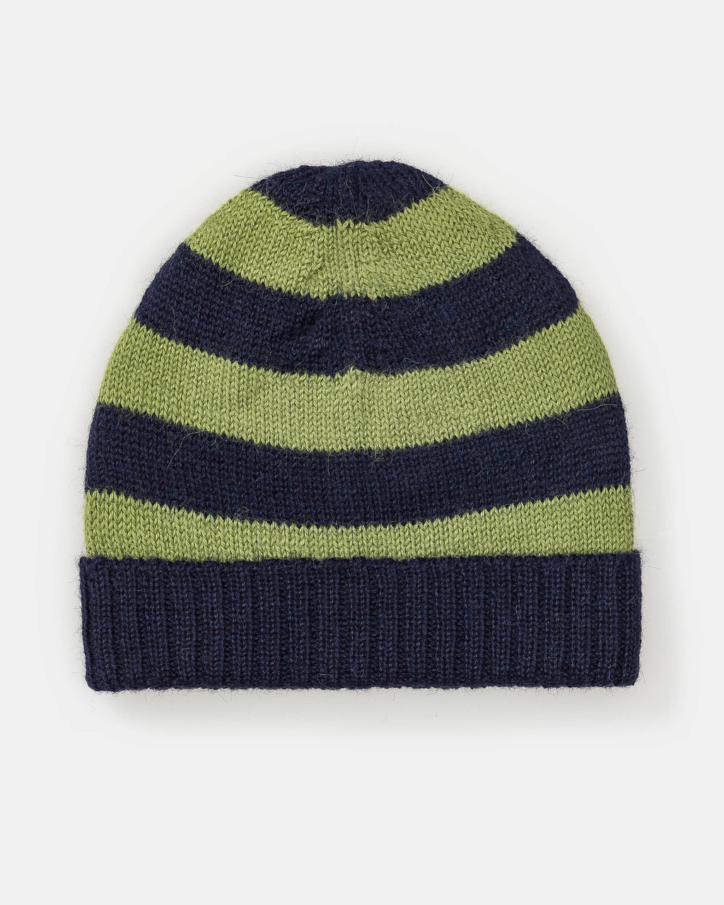 alicia adams alpaca charlie hat, alpaca hats for kids, alpaca beanie hat, all fair-trade made, alpaca vs cashmere, navy blue and peridot green hat